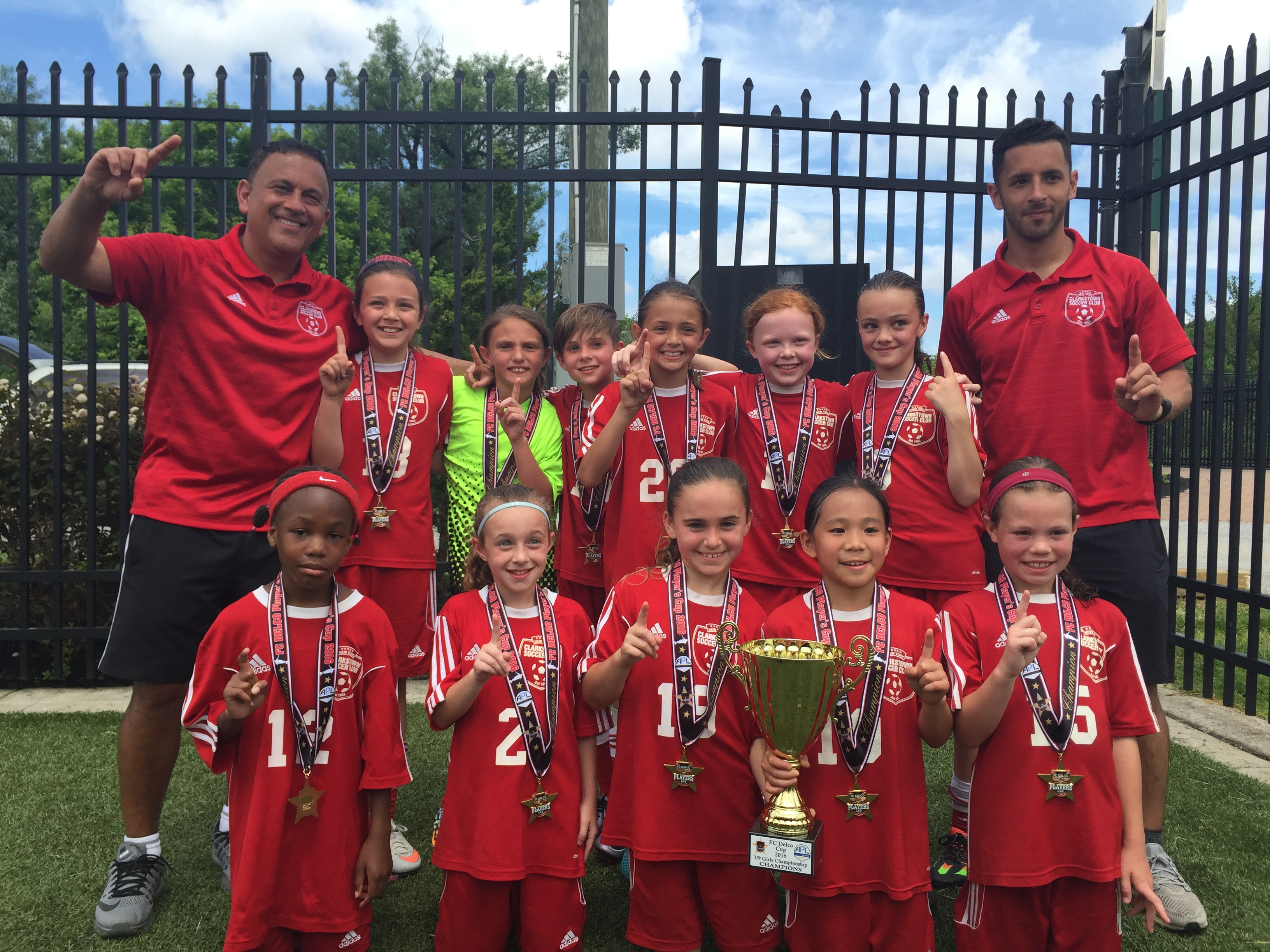 2015 FC Delco Players Cup, Champions 2007 Girls