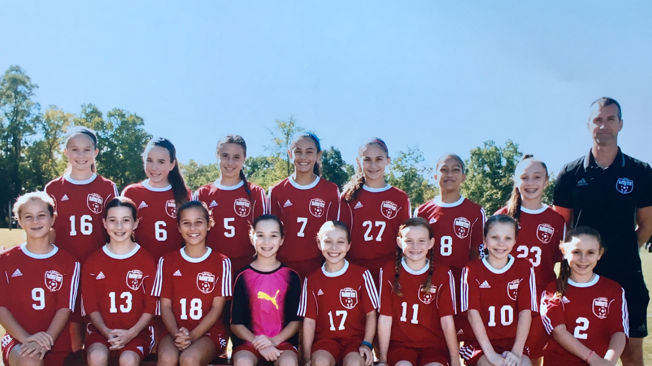 Girls 2005 White Elite
